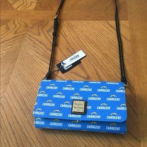 Brand new Dooney & Bourke crossbody wallet